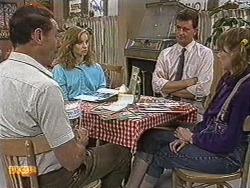 Malcolm Clarke, Sally Wells, Des Clarke, Melanie Pearson in Neighbours Episode 0721