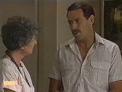 Nell Mangel, Malcolm Clarke in Neighbours Episode 0721