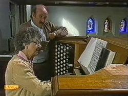 Nell Mangel, Reverend Sampson in Neighbours Episode 0722