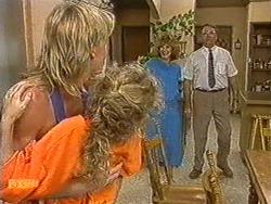 Scott Robinson, Charlene Mitchell, Madge Bishop, Harold Bishop in Neighbours Episode 0722