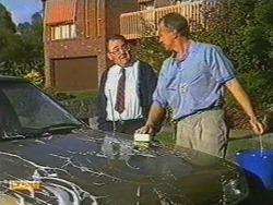 Harold Bishop, Jim Robinson in Neighbours Episode 0723