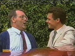 Harold Bishop, Paul Robinson in Neighbours Episode 0723