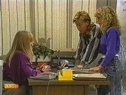 Jane Harris, Scott Robinson, Charlene Mitchell in Neighbours Episode 0723