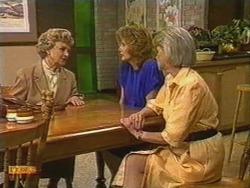 Edna Jackson, Madge Bishop, Helen Daniels in Neighbours Episode 0723