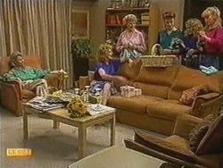 Helen Daniels, Madge Bishop, Edna Jackson, Gail Robinson, Charlene Mitchell, Jane Harris in Neighbours Episode 0723