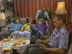 Henry Ramsay, Scott Robinson, Harold Bishop, Paul Robinson, Jim Robinson in Neighbours Episode 0723