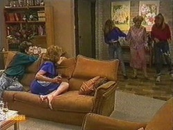 Gail Robinson, Madge Bishop, Charlene Mitchell, Edna Ramsay, Jane Harris in Neighbours Episode 0723