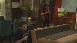 Lucas Fitzgerald, Emilia Jovanovic in Neighbours Episode 6296