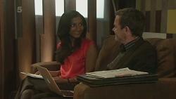 Priya Kapoor, Paul Robinson in Neighbours Episode 6296