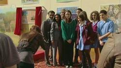Summer Hoyland, Ajay Kapoor, Priya Kapoor, Kate Ramsay, Noah Parkin, Sophie Ramsay in Neighbours Episode 6296