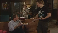 Toadie Rebecchi, Sonya Mitchell, Callum Jones in Neighbours Episode 6297