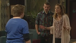 Callum Jones, Toadie Rebecchi, Sonya Mitchell in Neighbours Episode 6297
