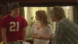 Chris Pappas, Natasha Williams, Andrew Robinson in Neighbours Episode 6298