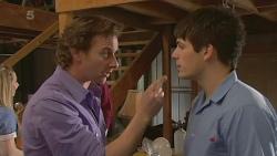 Lucas Fitzgerald, Chris Pappas in Neighbours Episode 6298