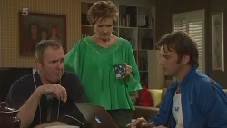 Karl Kennedy, Susan Kennedy, Malcolm Kennedy in Neighbours Episode 6299