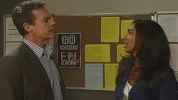 Paul Robinson, Priya Kapoor in Neighbours Episode 6301