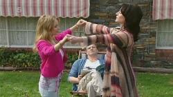 Natasha Williams, Michael Williams, Emilia Jovanovic in Neighbours Episode 6301