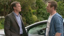 Paul Robinson, Michael Williams in Neighbours Episode 6301
