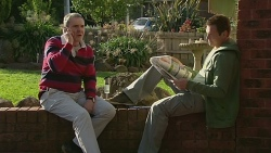 Karl Kennedy, Michael Williams in Neighbours Episode 6303