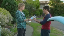 Andrew Robinson, Chris Pappas in Neighbours Episode 6304