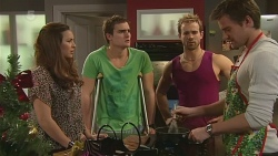 Jade Mitchell, Kyle Canning, Dane Canning, Rhys Lawson in Neighbours Episode 6305