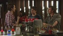 Blake Burrell, Chris Pappas, Lucas Fitzgerald in Neighbours Episode 6305