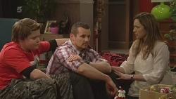 Callum Jones, Toadie Rebecchi, Sonya Mitchell in Neighbours Episode 6305