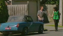 Lucas Fitzgerald, Emilia Jovanovic in Neighbours Episode 6305