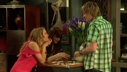 Natasha Williams, Summer Hoyland, Andrew Robinson in Neighbours Episode 6306