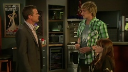 Paul Robinson, Andrew Robinson, Summer Hoyland in Neighbours Episode 6306