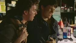 Lucas Fitzgerald, Chris Pappas in Neighbours Episode 6307
