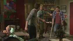 Malcolm Kennedy, Rhys Lawson, Dane Canning, Kyle Canning in Neighbours Episode 6307