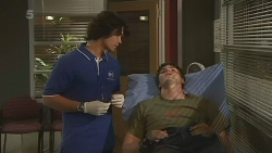 Aidan Foster, Chris Pappas in Neighbours Episode 6307