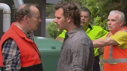 Warren Burrell, Lucas Fitzgerald in Neighbours Episode 6307