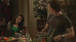 Emilia Jovanovic, Lucas Fitzgerald in Neighbours Episode 6308
