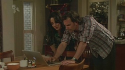 Emilia Jovanovic, Lucas Fitzgerald in Neighbours Episode 6310