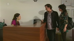 Anna Hauser, Lucas Fitzgerald, Emilia Jovanovic in Neighbours Episode 6310