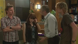 Lucas Fitzgerald, Summer Hoyland, Karl Kennedy, Andrew Robinson in Neighbours Episode 6311