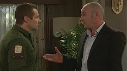 Toadie Rebecchi, Supt. Duncan Hayes in Neighbours Episode 6312