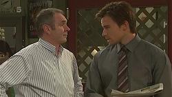 Karl Kennedy, Rhys Lawson in Neighbours Episode 6313