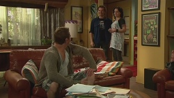 Michael Williams, Lucas Fitzgerald, Emilia Jovanovic in Neighbours Episode 6314