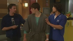 Lucas Fitzgerald, Chris Pappas, Aidan Foster in Neighbours Episode 6314