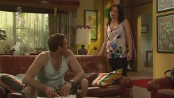 Michael Williams, Emilia Jovanovic in Neighbours Episode 6315
