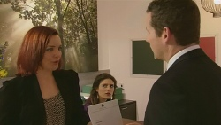Charlotte McKemmie, Anna Hauser, Toadie Rebecchi in Neighbours Episode 6319
