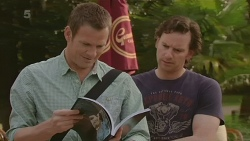 Michael Williams, Lucas Fitzgerald in Neighbours Episode 6319