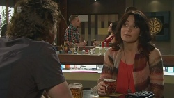 Lucas Fitzgerald, Emilia Jovanovic in Neighbours Episode 6319
