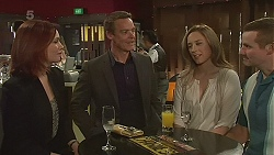 Charlotte McKemmie, Paul Robinson, Sonya Mitchell, Toadie Rebecchi in Neighbours Episode 6319