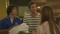 Aidan Foster, Rhys Lawson, Erin Salisbury in Neighbours Episode 6320