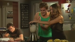Rhys Lawson, Kyle Canning, Jade Mitchell in Neighbours Episode 6321