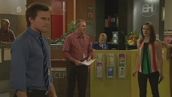 Rhys Lawson, Karl Kennedy, Kate Ramsay in Neighbours Episode 6321